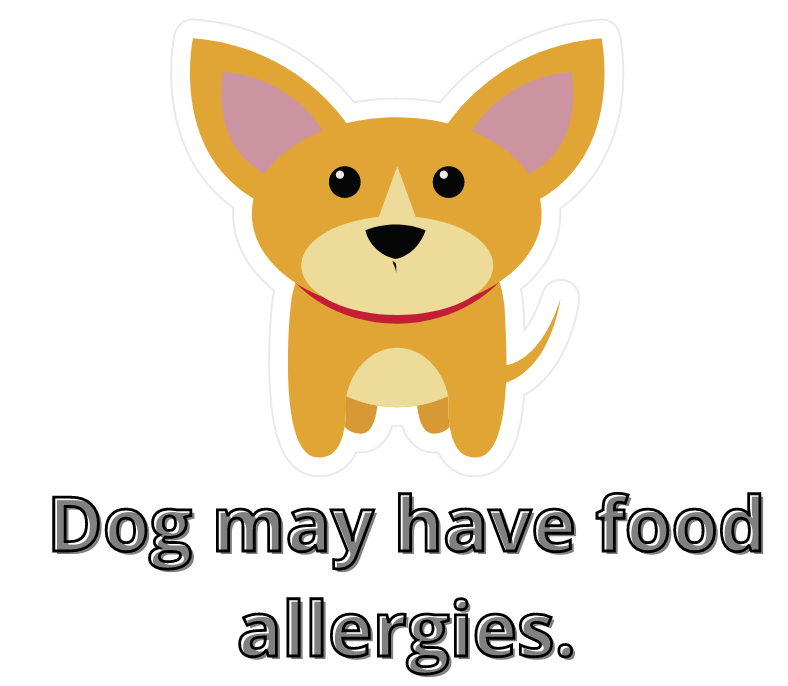 dog does have food allergies